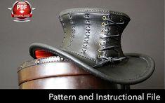 Top Hat Pattern DIY Pattern Steampunk hat DIY Pdf