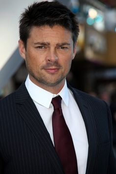 Karl Urban. SubCategory A: Suit Porn. SubCategory B: Obscenely Pornographic Hair Porn. SubCategory C: The Eyebrow of Ladybit Doom.