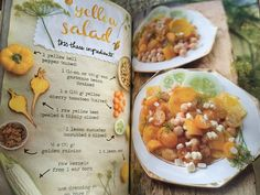 The Forest Feast book: yellow salad