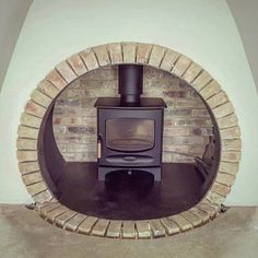Kooky installation by Doss Ironworks Decor, Wood, Home Appliances, Contemporary Wood Burning Stoves, Contemporary, Home Decor, Stove, Wood Burning, Fireplace