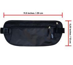 Travel Navigator RFID-Blocking Money Belt