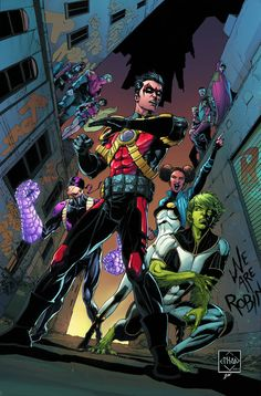 "A ""Robin War"" tie-in! With Tim Drake missing, the Teen Titans track him back to Gotham City, where the Robin War rages-but Professor Pyg stands between the team and their leader."