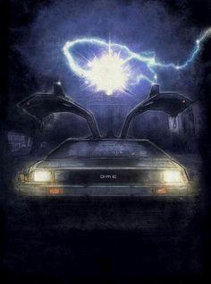 Delorean -Back to the Future