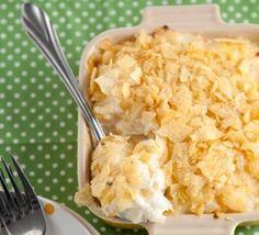 Creamy Hash Brown Casserole  | G-Free Foodie #GlutenFree