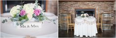Wedding Reception Couples table | Crystal Belcher Photography