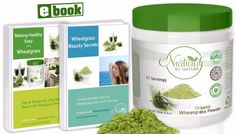 Premium Organic Wheatgrass Powder USA Grown Pure Whole Leaf Superfood NonGMO No Gluten Soy or Dairy Vegan by Nurtured by Nature 30 Servings eBook included Best Detox Foods, Wheatgrass Powder, Best Fat Burner, Vinegar Weight Loss, Green Superfood, Superfood Powder, Wheat Grass, Spirulina, Good Fats