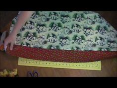 Simple Pillowcase Tutorial - YouTube