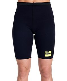 Take a look at this Black Calorie-Burning HotPants™ Original Shorts by Zaggora on #zulily today! These work. I am not advertising for them but I own this and it works :-)
