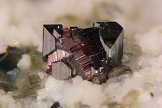 Anatase and Rutile - Binn Valley, Wallis, Switzerland