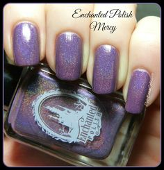 Nail of the Day: Enchanted Polish Mercy   Pointless Cafe