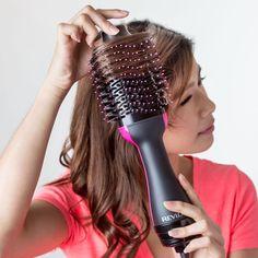 Revlon Hair Dryer Brush, Hair Brush, One Step, Smooth Hair, Shiny Hair, How To Make Hair, Hair Tools, Dry Hair, Bob Hairstyles