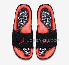 71ea49c09f67 Air Jordan Hydro VII Retro 7 Mens Slippers Black Red Online Sales