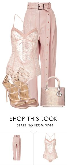 Untitled #1423 by styledbyjovonxo on Polyvore featuring Proenza Schouler, Madame Aime and Dsquared2
