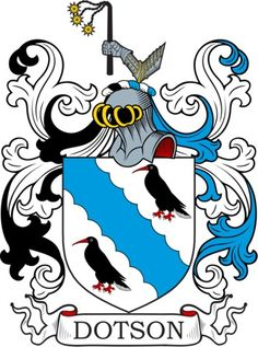 Dotson Family Crest and Coat of Arms