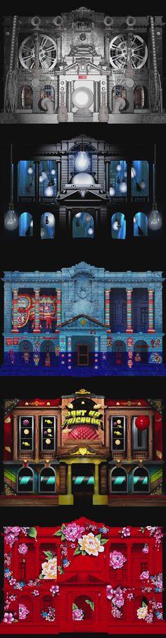 台中州廳建築投影「築.光.臺中」