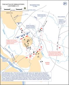 Battle of Germantown (in which was engaged the 11th Virginia regiment, in which was enlisted Samuel Elliott)