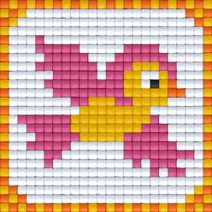 vogeltje-witbg_virtual Tiny Cross Stitch, Easy Cross Stitch Patterns, Cross Stitch Cards, Simple Cross Stitch, Modern Cross Stitch, Cross Stitch Designs, Stitching On Paper, Cross Stitching, Cross Stitch Embroidery