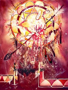Transcending Indian Spirit Painting