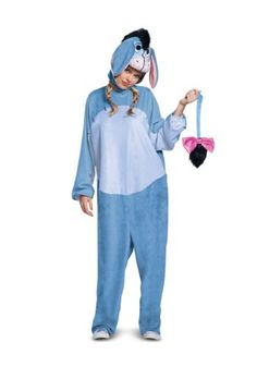 Easy Homemade Eeyore Costume. It was a a good & warm costume for ...