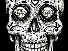 This is Santa Muerte, otherwise known as the Angel of Death. Description from…