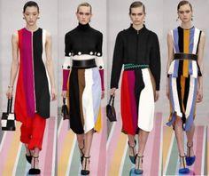 As listras são mega tendências da moda outono/inverno 2017