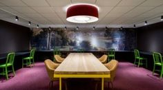 Ted Moudis Associates have designed the new offices of Initiative Media in New York City.