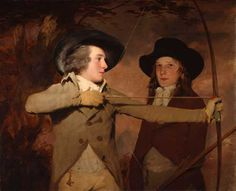 The Archers, 1789-1790  Henry Raeburn