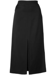 JIL SANDER Long A-Line Skirt. #jilsander #cloth #skirt