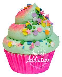 Mamacita needs a Margarita Cupcake Bath Bomb Margarita Cupcakes, Fun Cupcakes, Skin Candy, Fluffy Frosting, Cupcake Bath Bombs, Bath Fizzies, Bath And Body, Sprinkles, How To Make Money