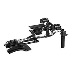 Photo Studio Accessories Have An Inquiring Mind Neewer Dslr Dual Handle Hand Grip For Shoulder Pad Chest Steady 15mm Rail Rod Rig Support System Camera & Photo Accessories