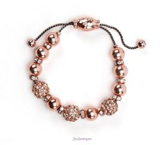 $18 Rosy Outlook Bracelet from Just Jewelry by Jessica