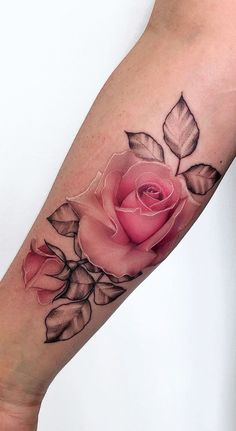 Feed Your Ink Addiction With 50 Of The Most Beautiful Rose T.- Feed Your Ink Addiction With 50 Of The Most Beautiful Rose Tattoo Designs For Men And Women jaw-dropping rose tattoo © tattoo artist Pony Wave Pony Wave Dope Tattoos, Pretty Tattoos, Forearm Tattoos, Unique Tattoos, Beautiful Tattoos, Body Art Tattoos, Hand Tattoos, Tatoos, Tattoos Masculinas