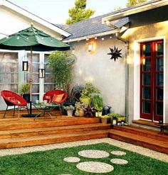 Great Guide To Patio and Outdoor Lighting: Illuminate your deck or patio with lighting options that fit your space, needs, and budget.