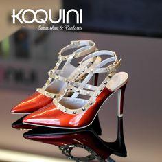 Que tal estilo #valentino pra dar um up no seu look? #koquini #sapatilhas #euquero #scarpin Compre Online: http://koqu.in/1iJ1QTm