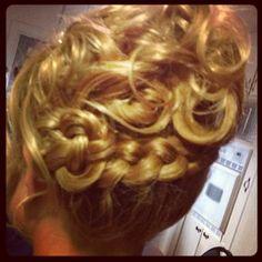 creative wedding hair