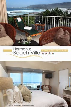 With its 4 star intimate set up, this Hermanus Beach Villa possesses the unique ability to cater to various needs alike and so form the starting point to your individually designed stay in Hermanus. Beach Villa, Tourism, Restaurant, Star, Luxury, Unique, Outdoor Decor, Travel, Home Decor