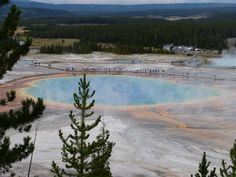 The Grand Prismatic. Yellowstone park.2014