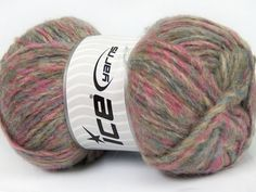 Harmony Mohair Pink Lilac Blue Beige