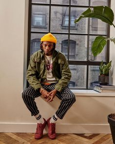 "1,222 Likes, 10 Comments - Urban Outfitters Men's (@urbanoutfittersmens) on Instagram: ""online now: the exclusive new @pony + @joeybadass collection for uo. #uomens #uoexclusives"""