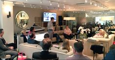 Full house at J. Robert Scott for the 'Making of Moonstone' workshop #SYDWeek @superyachtevent