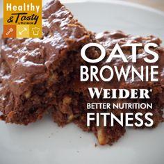 Brownie de proteína versión fitness > Weider Nutrition