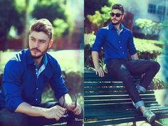 photo Manu Lamode model: Henrique Machado cliente: camisas Factual