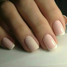 All girls like beautiful nails. The first thing we notice is nails. Therefore, we need to take good care of the reasons for nails. We always remember the person with the incredible nails. Instead, we don't care about the worst nails. So make sure you Simple Nail Designs, Nail Art Designs, French Manicure Designs, Hair And Nails, My Nails, Nail Manicure, Nail Polish, Manicure Ideas, Mani Pedi