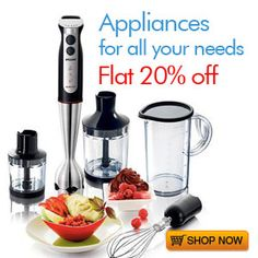 Make life easy with this home Aappliances.