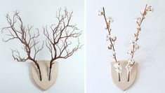 Turn plants into vegan wall mounts with this cool design, created by a team of Italian designers and inspired by the Japanese flower arrangement