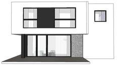 DOM.PL™ - Projekt domu NA A-94 CE - DOM NA1-52 - gotowy koszt budowy My Dream Home, Dream Houses, Mirror, Furniture, Home Decor, My Dream House, Dream Homes, Decoration Home, Room Decor