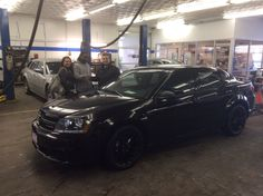 #MidwayDodge #Chicago & Carlos Compean want to congratulate Angelo Bruce on his #new 2014 #Dodge #Avenger. He drove away in our most popular version: the #Blacktop. It come with all black everything; Paint, interior, and rims! Come see what Carlos can do for you! #car #Chrysler @Lois Reed #cars