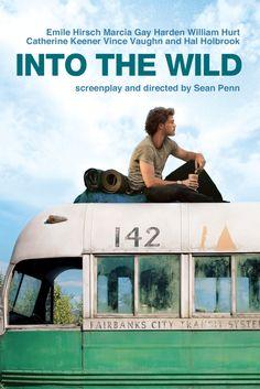 Into the Wild Movie Poster - Emile Hirsch, Vince Vaughn, Marcia Gay Harden  #IntotheWild, #MoviePoster, #Drama, #SeanPenn, #EmileHirsch, #MarciaGayHarden, #VinceVaughn