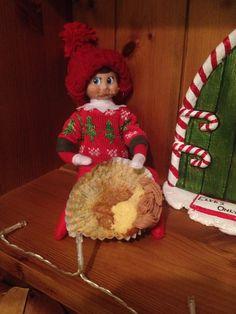 Elf on the shelf- birthday cake