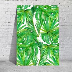 Poster - Tropical Leaves